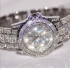 Accessories - Watch Ice bling women stainless steel